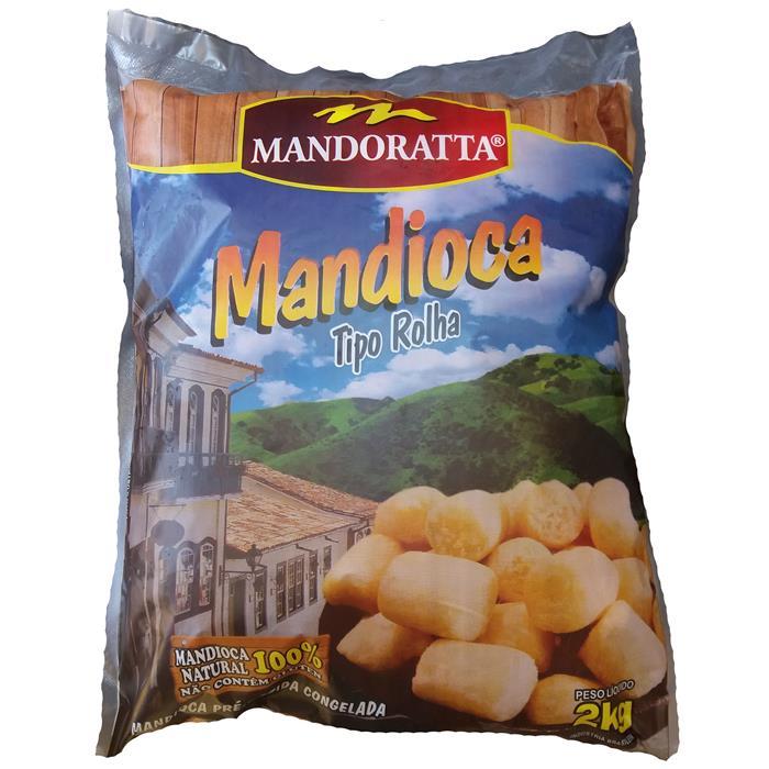 VEG MANDIOCA ROLHA MANDORATTA CX 5/2KG
