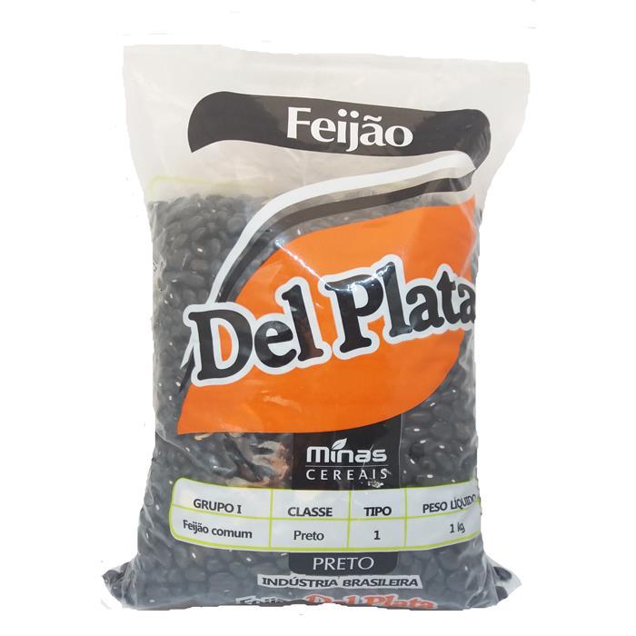 FEIJAO PRETO DEL PLATA FD.30/1KG