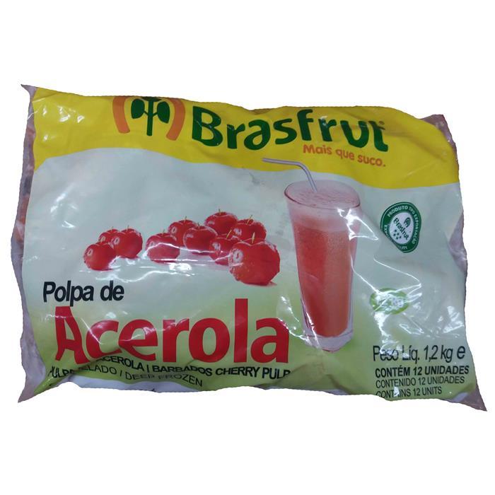 POLPA ACEROLA BRASFRUT 4/12/100G