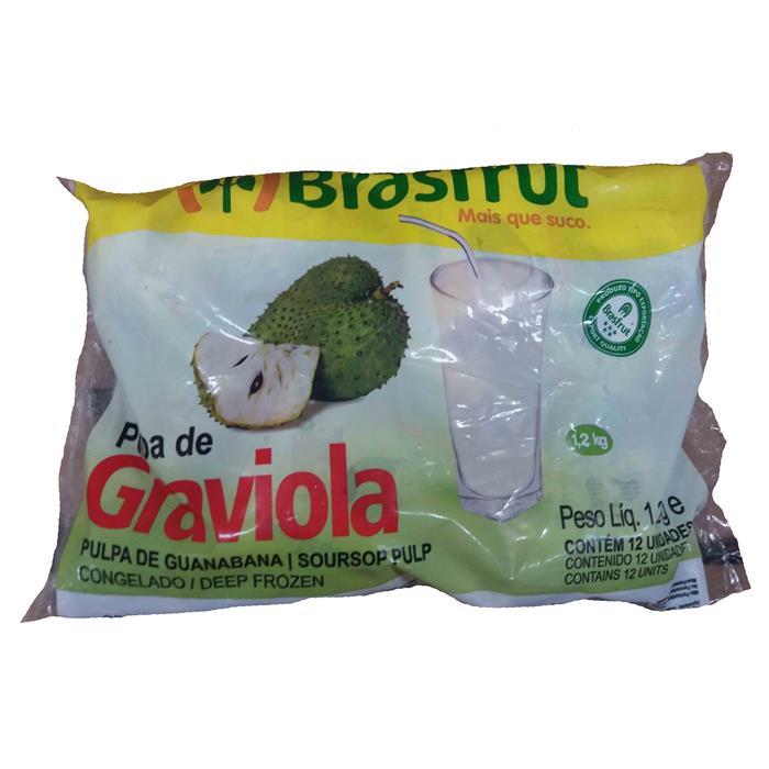 POLPA GRAVIOLA BRASFRU 4/12/100
