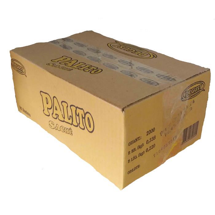 PALITO MADEIRA SACHE PAPEL DEGUST C/2000