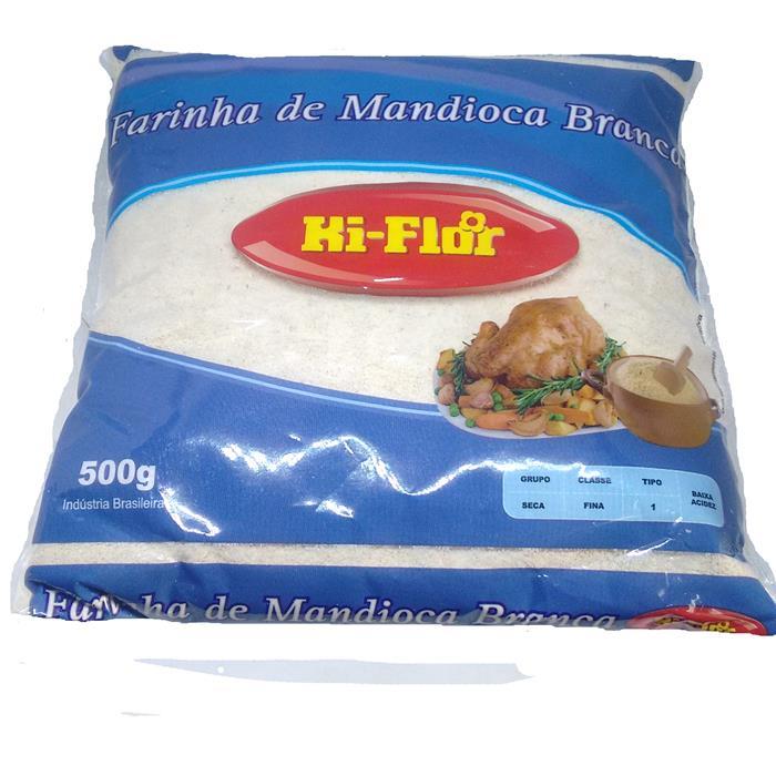 FARINHA DE MANDIOCA BRANCA KIFLOR 20/500