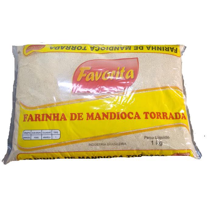 FARINHA DE MANDIOCA TORR.FAVORITA 20/1K