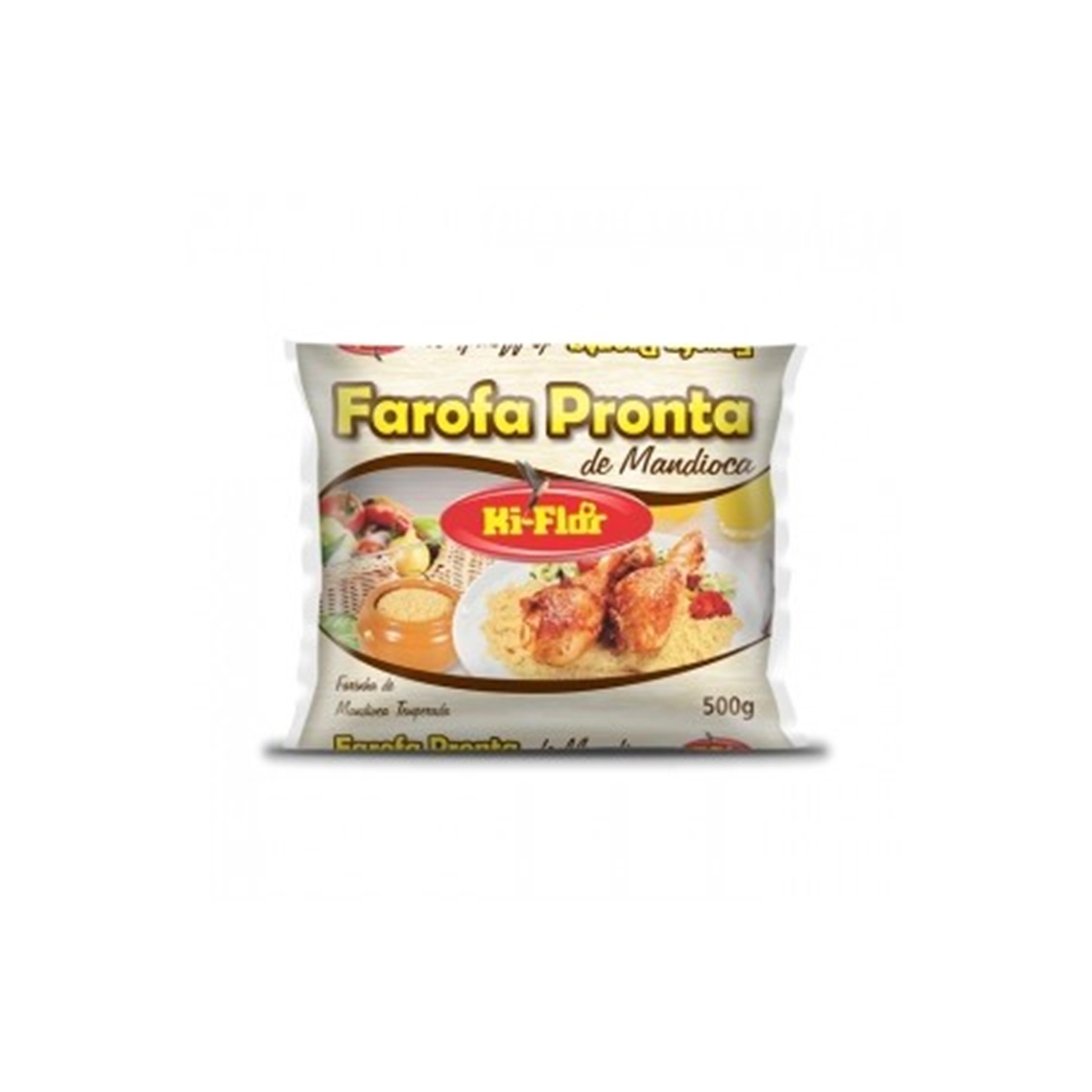 FAROFA PRONTA KI-FLOR FD.24/500G